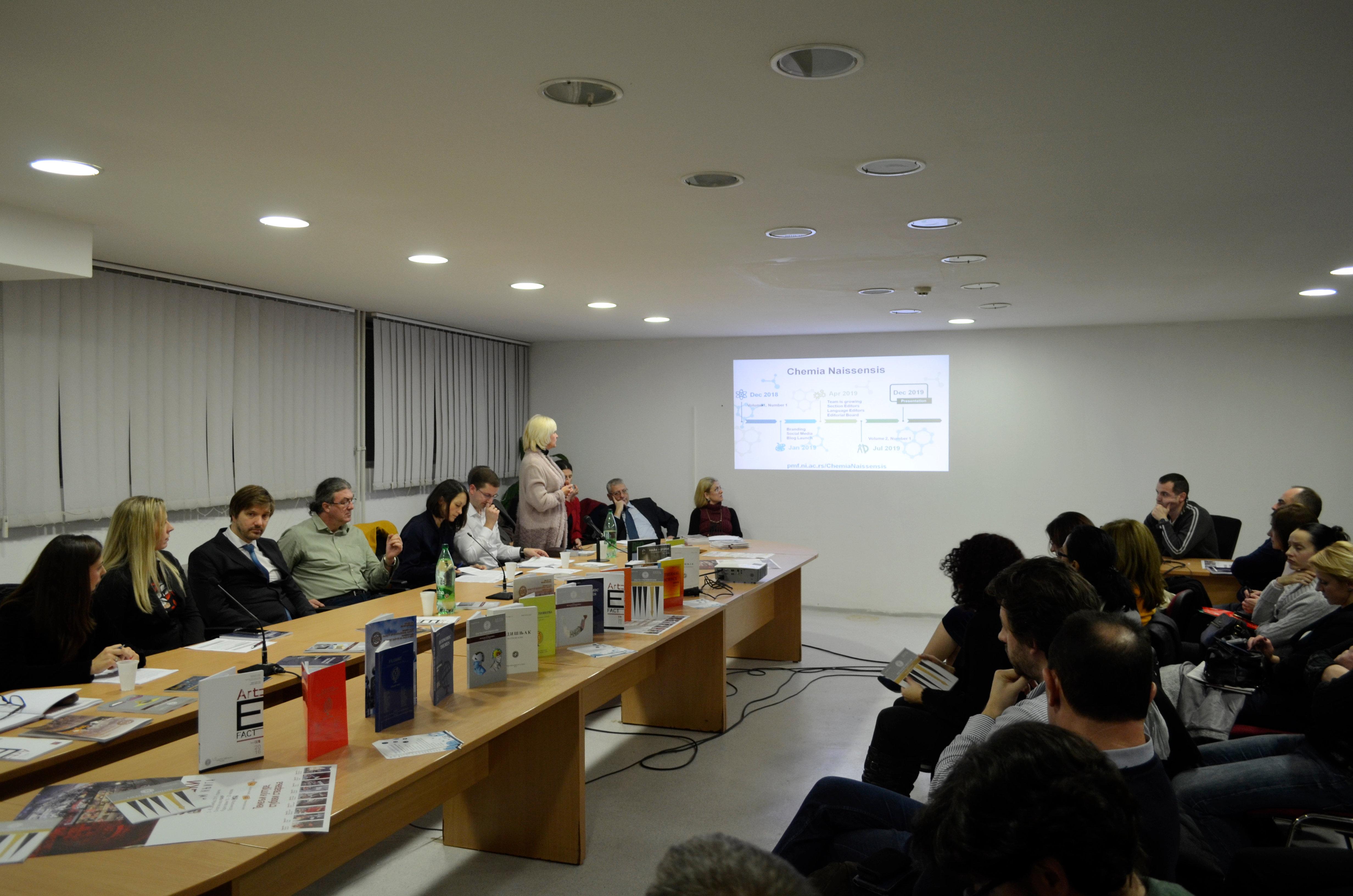 Scientific Journals Promotion | City of Niš