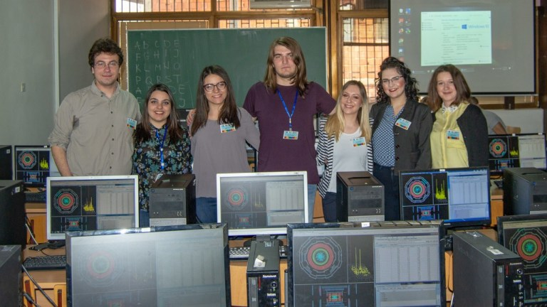 Deo osnivača Niš Young Minds sekcije na ovogodišnjem CERN Masterklasu